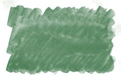 Colorful dark green watercolor background for wallpaper. Aquarelle bright color illustration.  stock photos