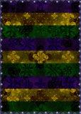 Colorful Dark Ornate Stripes Background Royalty Free Stock Image