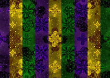 Colorful Dark Ornate Stripes Background Royalty Free Stock Images