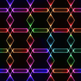 Colorful dark seamless background with shining gem Royalty Free Stock Images