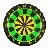 Colorful dartboard Stock Images