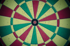 Colorful dartboard. Royalty Free Stock Images