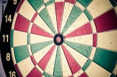 Colorful dartboard. Stock Photo