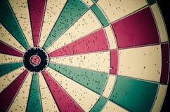 Colorful dartboard. Stock Photos