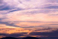 Colorful dawn/dusk sky background. Colorful dawn/dusk sky background Royalty Free Stock Images
