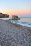 Colorful dawn over the sea Stock Photo