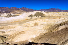 Colorful Death Valley Landscape. Colorful landscape in Death Valley National Park in California as seen from Artist Drive Royalty Free Stock Photos