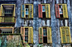 Colorful Decay Royalty Free Stock Photography