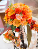 Colorful decorate flower Royalty Free Stock Image