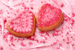 Colorful decorated cookies Royalty Free Stock Photography