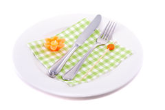 Colorful decorated plate Royalty Free Stock Photos