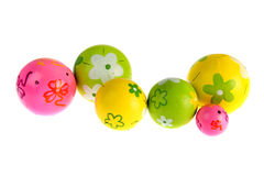 Colorful decoration balls Royalty Free Stock Photo