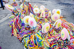 Colorful decoration for carnival Royalty Free Stock Photo