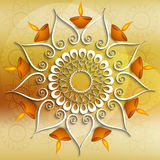 Colorful decoration Diwali diya celebration Stock Photo