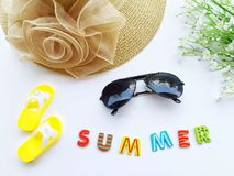 Colorful decoration for summer. royalty free stock photography