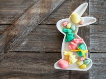 Colorful decorations for easter Stock Photography