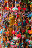 Colorful decorations market India Stock Photography