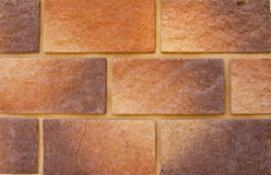 Colorful decorative brick wall background Royalty Free Stock Image