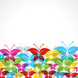 Colorful  decorative butterfly Royalty Free Stock Images