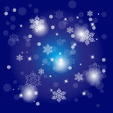 Colorful Decorative Christmas Backround Royalty Free Stock Photo