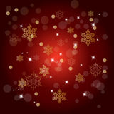 Colorful Decorative Christmas Backround Royalty Free Stock Photography