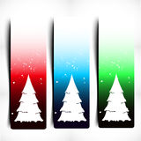 Colorful Decorative Christmas Banner Royalty Free Stock Photography