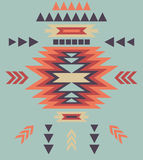 Colorful decorative ethnic pattern Stock Photos