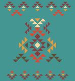 Colorful decorative ethnic pattern Stock Image