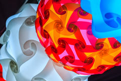 Colorful decorative lantern lamp for sale on street in Bangkok n Royalty Free Stock Photos