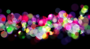Colorful Decorative Lights Royalty Free Stock Images