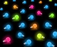 Colorful Decorative Lights Stock Images