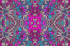 Colorful Decorative Ornament Pattern Stock Photos