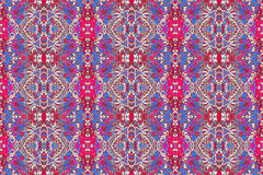 Colorful Decorative Ornament Pattern Royalty Free Stock Images