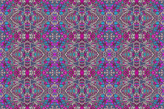 Colorful Decorative Ornament Pattern Royalty Free Stock Photo