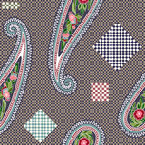 Colorful decorative pattern. Ethnic background Royalty Free Stock Images