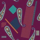 Colorful decorative pattern Stock Image