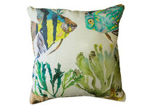 Colorful decorative pillow Royalty Free Stock Images