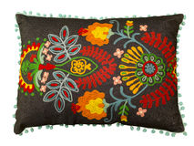 Colorful decorative pillow. Stock Images
