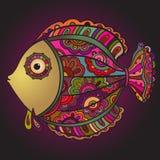 Colorful decorativel fish Royalty Free Stock Photos
