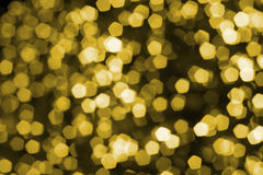 Colorful defocused bokeh lights background. Stock Photo