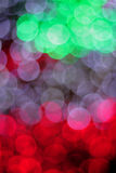 Colorful defocused bokeh lights background. Stock Image