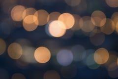 Colorful defocused bokeh lights. Bokeh background royalty free stock photos