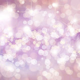 Colorful defocused lights royalty free stock photos