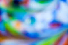 Colorful defocussed abstract macro background Stock Photography