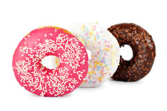 Colorful delicious donuts Royalty Free Stock Images