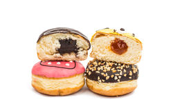 Colorful delicious donuts Stock Image