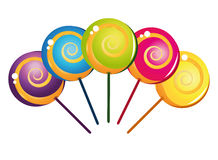 Free Colorful Delicious Lollipop Collection Royalty Free Stock Photography - 21274367