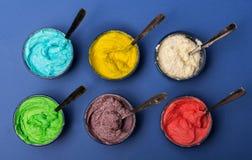 Colorful desert Stock Photo