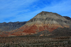 Colorful desert mountain Stock Images
