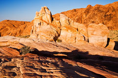 Colorful Desert Rocks Royalty Free Stock Images